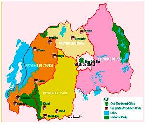 carte rwanda